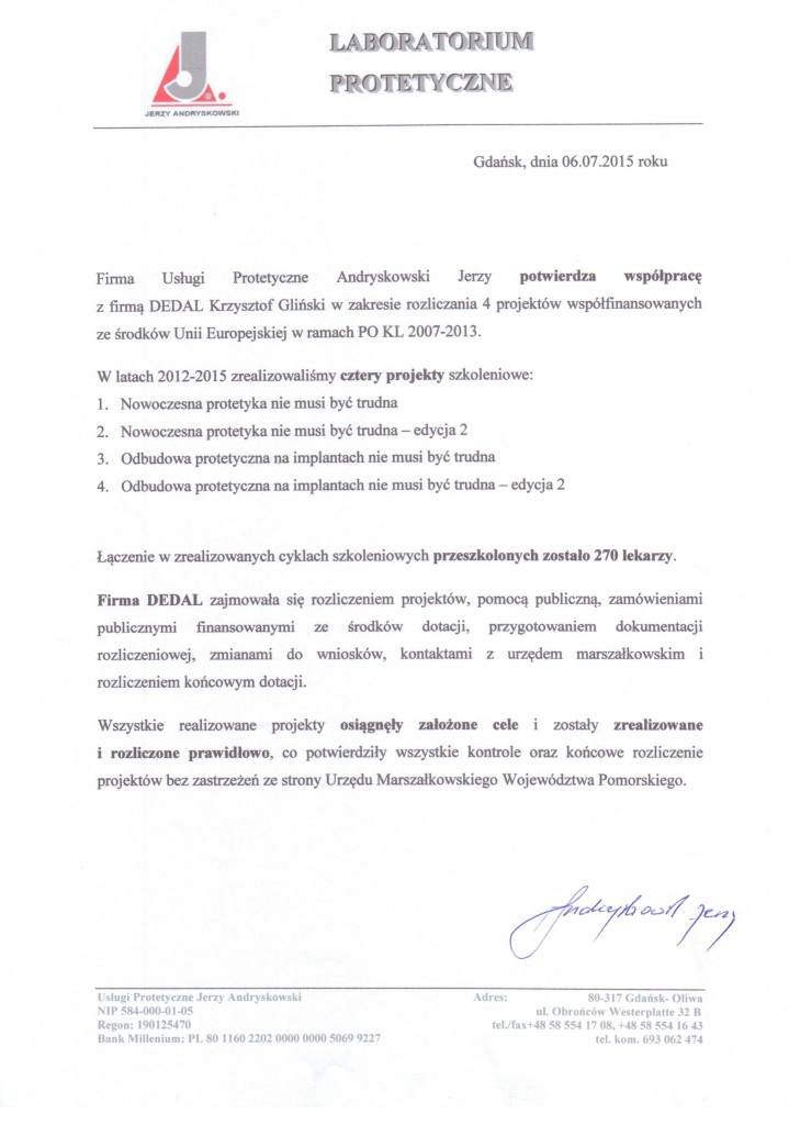 POKL 8.1.1 Andryskowski